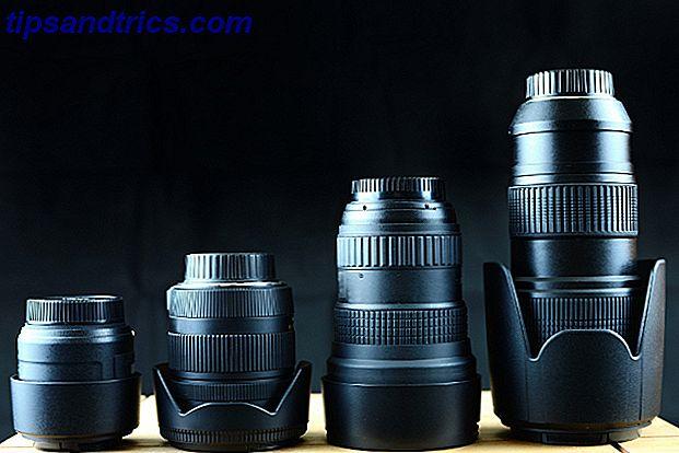 5 gemeinsame Foto-Objektive und wann sie zu verwenden