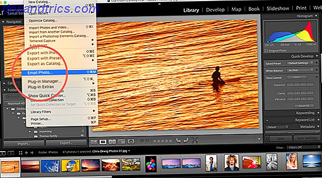 Sådan sender du billeder direkte fra Adobe Lightroom