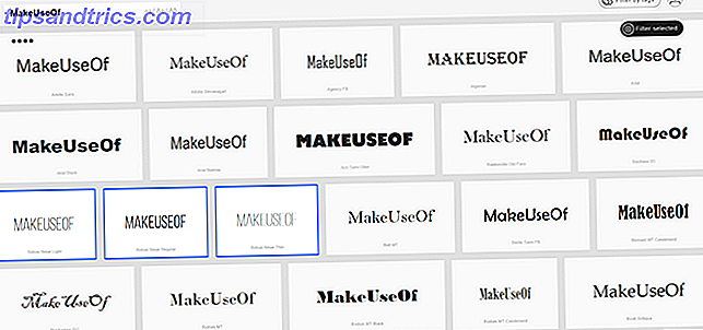 Hoe u in één keer alle lettertypen op uw pc kunt bekijken