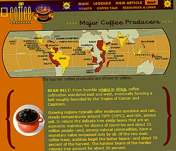 8 excellents sites Web pour une tasse de café améliorée