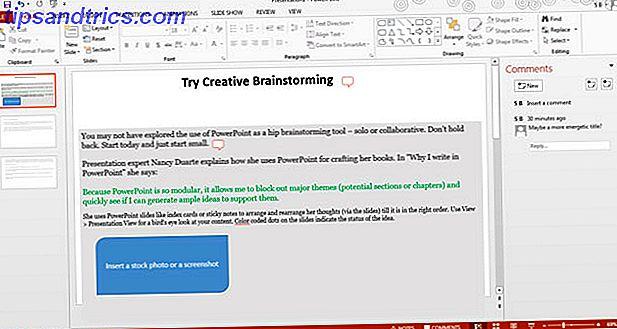 Pensa fuori dagli schemi.  Demolisci il fatto che PowerPoint sia solo uno strumento di presentazione noioso.  Troviamo dieci usi creativi per questo.