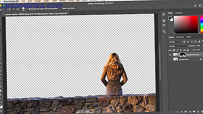 Colorare sfondo immagine photoshop