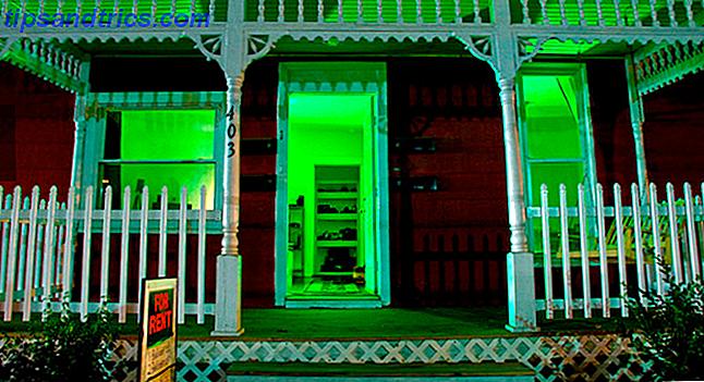 Raccapriccianti progetti di illuminazione di halloween per meno
