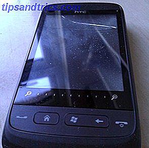 Vejledningen til udskiftning af en beskadiget mobiltelefonskærm