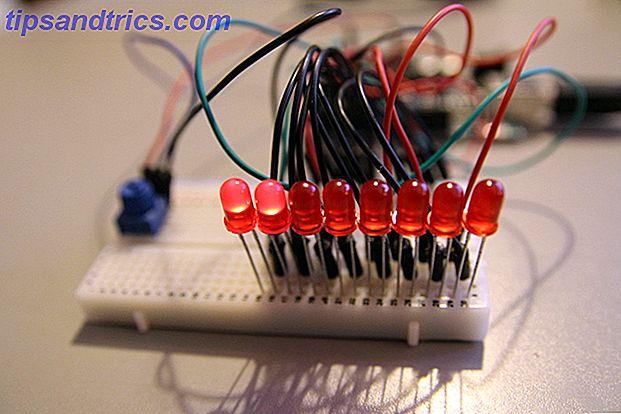 Stellen Sie einen Knight Rider LED Scanner mit Arduino her