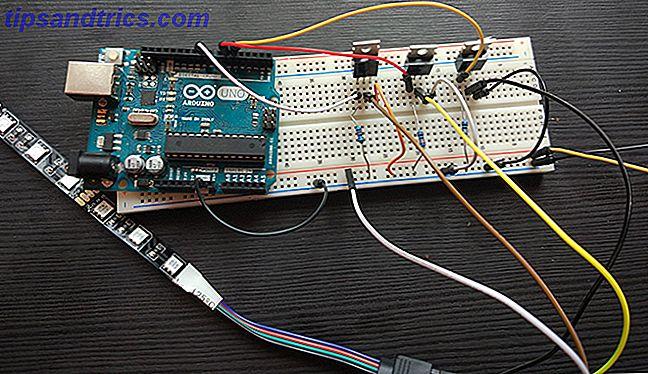 Arduino ledet tilslutning