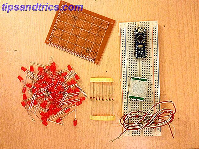 Améliorez votre guirlande de Noël avec une matrice de LED activée par le mouvement