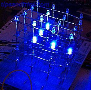 Programmera din Arduino 4x4x4 LED-kub för att göra några mer fantastiska saker