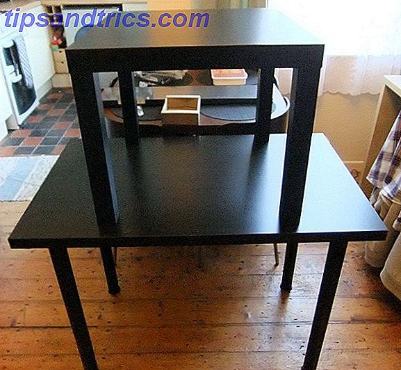 Wie Man Einen Preiswerten Stehenden Schreibtisch Von Ikea Baut Und