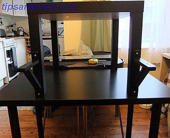 Hoe een goedkoop staand bureau te bouwen van ikea en hoe het is om