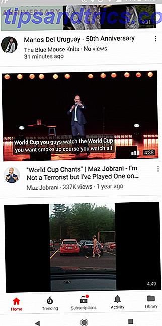 YouTube a récemment déployé une nouvelle fonctionnalité sur son application Android, qui peut devenir très agaçante: la lecture automatique de vidéos dans le flux d'accueil.