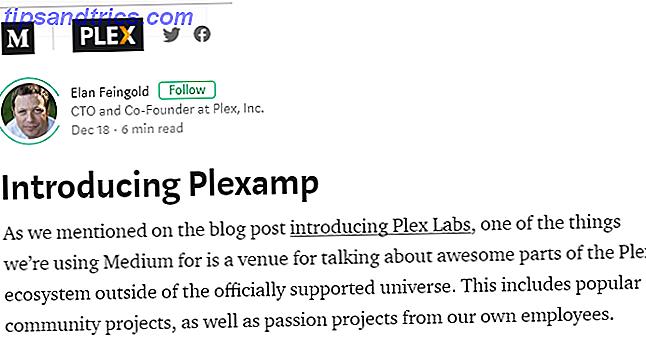 Dans cet article, nous allons rapidement expliquer ce qu'est Plex Labs, puis passer à un examen en profondeur de sa première application hors concours, un lecteur de musique appelé Plexamp.