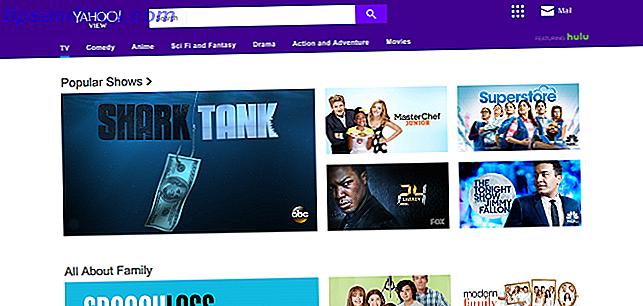 Med al talk om Netflix, Hulu og lignende, har Yahoo View meget fløjet under radaren.  Så hvad er Yahoo View?  Og hvad kan du se på Yahoo View?