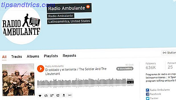 Radio Ambulante Podcast auf SoundCloud