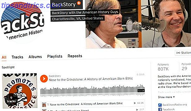 BackStory Podcast auf SoundCloud