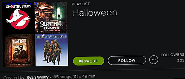 Spotify Playlist - Halloween