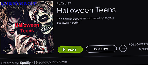 Spotify Playlist - Halloween Teens