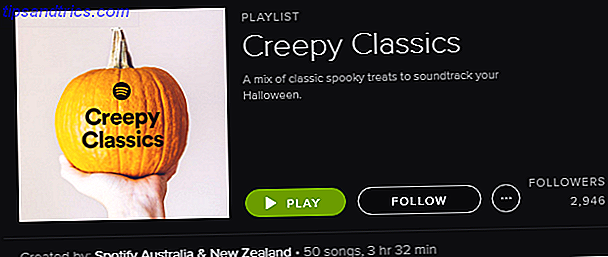 Spotify Playlist - Creepy Classics