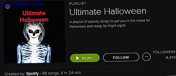 Spotify Playlist - Ultimate Halloween