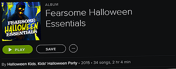 Spotify Playlist - Fearsome Halloween Essentials