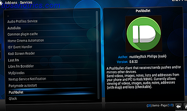 Pushbullet-Kodi-Installation
