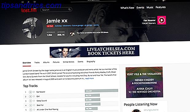 Husk Last.fm?  Et nyt kig på Redesigned Music Service