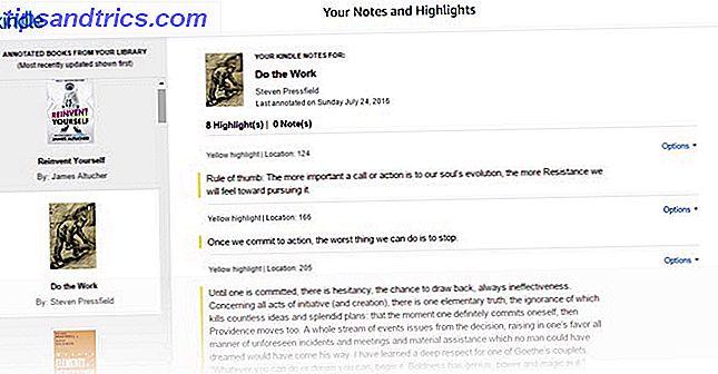 Amazon har förbättrat utseende och känsla av anteckningar och höjdpunkter för Kindle-användare.