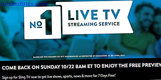 Wie man Sling TV umsonst diesen Sonntag sieht