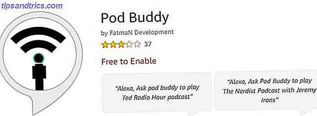 Pod Buddy para amazon echo podcasts