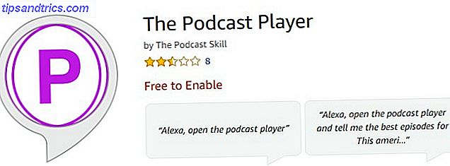 Podcast Player para amazon echo podcasts