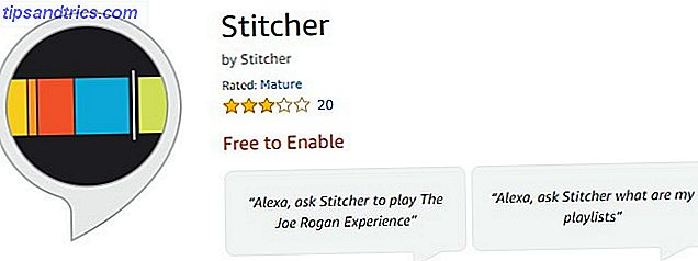 Stitcher para amazon echo podcasts