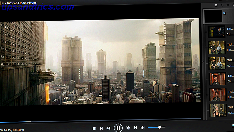 Appuyez sur Play: Le DVDFab Media Player 2 Manual