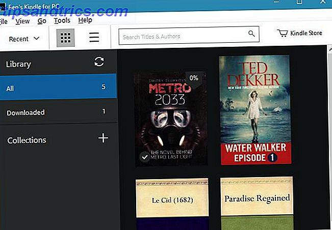 Incluso si no tiene un Kindle, puede descargar ebooks Kindle gratuitos para leer en su PC.  Este artículo te facilita el proceso.