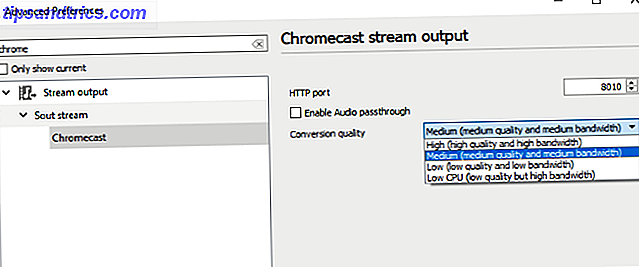 Streamen van video's van VLC naar Chromecast muo-entertainment vlc3-chromecastconversiemenu 1