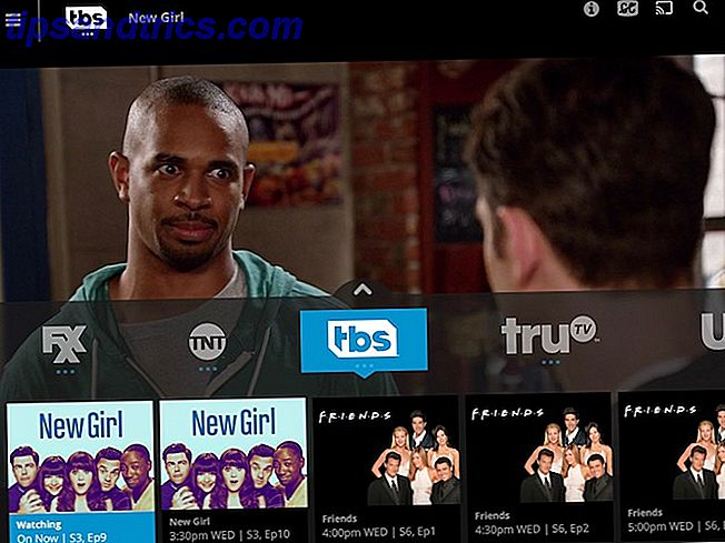 Exemple de catalogue Sling TV
