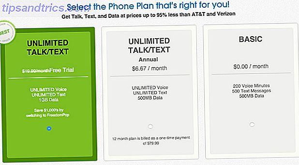 De 10 billigste mobiltelefonplaner i USA lige nu [Cheat Sheet Included]