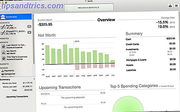 Logiciel de finances personnelles pour votre Mac: 5 options solides