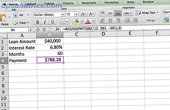 Sådan opretter du en afskrivningsplan med Excel for at administrere din gæld