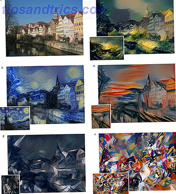 Saviez-vous que les réseaux de neurones peuvent aussi peindre?  Les chercheurs ont formé un vaste réseau de neurones pour transformer des photographies en peintures neurales qui ont l'air d'avoir été peintes par des artistes célèbres.