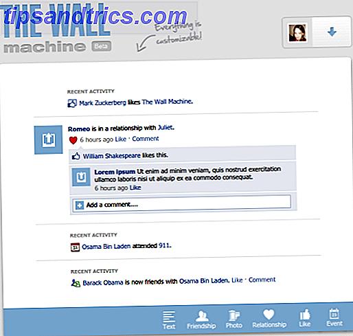 4 formas geniales de hacer actualizaciones falsas del estado de Facebook [Consejos semanales de Facebook]