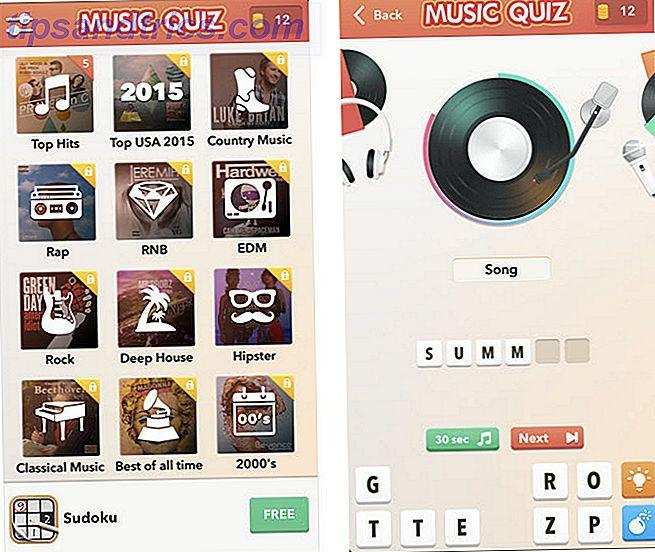 ¿Desea desafiar su conocimiento musical sobre la marcha?  Estos juegos gratuitos de música móvil se verán si realmente conoces tus géneros, artistas y otros datos musicales.