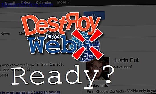 Destruye la web: dispara cosas que no te gustan, para divertirte y obtener ganancias [Firefox, Chrome]