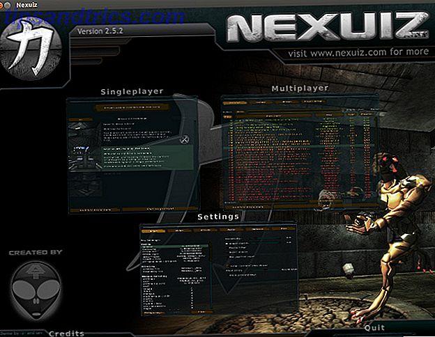 Os jogos para Linux viram recentemente um aumento nos títulos populares, mas isso não significa que não tenha bons jogos antes da chegada do Steam.  O Nexuiz é um dos vários títulos que continua sendo um jogo popular no Linux para usuários antigos e novos.