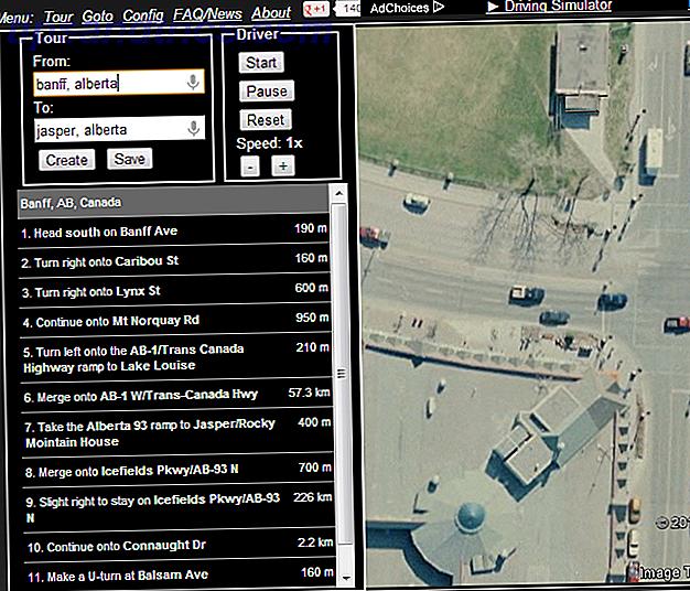 Google Maps är en bra reseguide.  Nu kan du även ställa in Street View på auto-pilot och låta det ta dig på världens mest natursköna enheter.  Här är 5 verktyg som gör det möjligt.