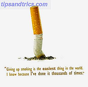Å slutte å røyke vil forandre livet ditt og kunne potensielt spare det også.  Dessverre er det lettere sagt enn gjort.