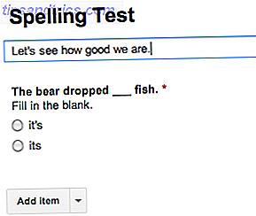 Cómo usar los formularios de Google para crear su propio cuestionario de autoevaluación