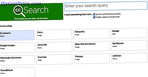 Hay muchas razones por las que podría necesitar encontrar imágenes de Creative Commons.  El año pasado, le presentamos cinco lugares geniales para encontrar imágenes de Creative Commons, con la lista que incluye pesos pesados como Flickr y Google Image Search, junto con algunos servicios más de los que quizás no haya oído hablar.