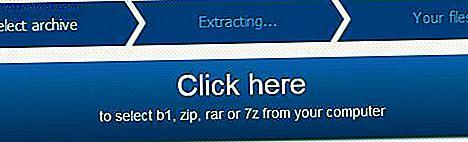 B1 Online Archiver: decomprimere i file compressi online e scaricare i file singolarmente