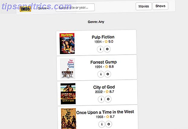 Gennemse film som en pro med disse 5 webapps