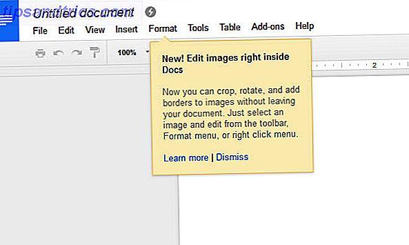 O Google Docs agora tem ferramentas básicas de edição de imagens.  É uma atualização simples, mas é outro passo importante para transformar o Google Docs em um editor de documentos para todas as temporadas.